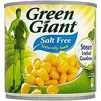 Green Giant Naturalmente Dulce Maíz Dulce Sin Sal Ni Azúcar (340g) (Paquete de 6)