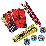 Amscan International Spiderman Schreibwaren-Set, 20-teilig