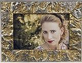 Bilderrahmen aus Holz Handarbeit Made in Italy Blattgold Gold und Silber verschiedene Größen 60x120