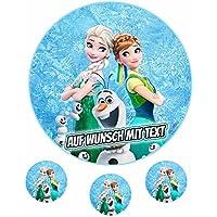 Fondant Frozen Die Eiskönigin P2 Tortenband Geburtstag Oblate