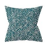 Nordic geometrico federa verde pietra pino soggiorno divano cuscino cuscino set cuscino decorazione della casa interna federa come mostrato in figura 45 * 45 cm