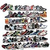100 Stücks Aufkleber Pack Graffiti Decal, Retro Sneakers Aufkleber, Wasserdicht Vinyl Sticker für Laptop, Koffer, Kinder, Skateboard, Auto, Motorrad, Snowboard [EINWEG]