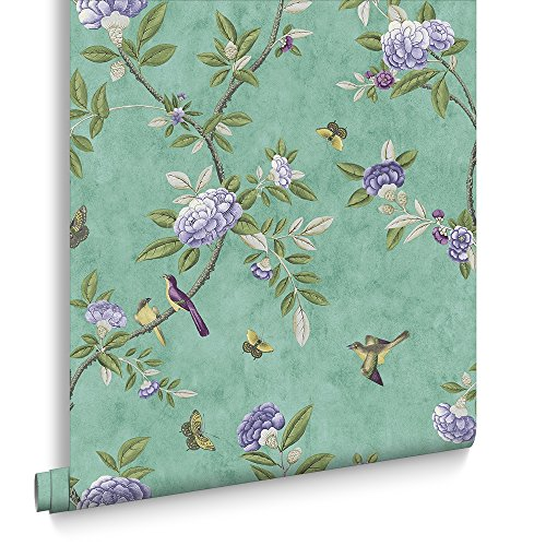graham-brown-chinoiserie-vintage-birds-floral-jade-wallpaper-was-23-now-5