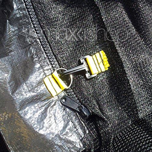 Trampolin awm® Sicherheitsnetz 10FT Ø 300 cm – 305 cm für 8 Stangensystem - 4