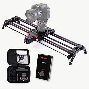 Konova Motorisierter Slider P1 Serie Carbon Slider Kamera