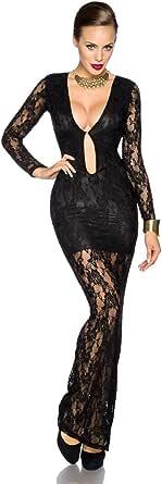 Amynetti Sexy Damen Kleider Abendkleid langes Kleid ...