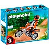 Playmobil - 5115 - Jeu de construction - Motocross