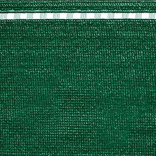 tenax Rete Tessuta Ombreggiante Frangivista a Schermatura Totale, Coimbra 1,00x5 m Verde