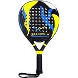 GRANDCOW Paddle Tennis Racket Carbon Fiber Power Lite Pop Tennis Paddle Paddleball Racquets