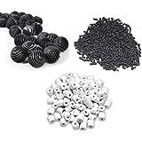 500g Activated Carbon + 500g Ceramic Rings + 22 Bio Balls - Suitable for All Aquarium Fish Tank ** COLOURFUL AQUARIUM ** (Fil