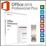 Office 2019 Professional Plus ISO USB mit 16GB in der 32/64 Bit Version + originalen Produkt-Key