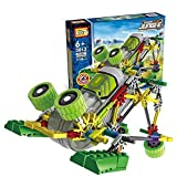 Motorial Alien Robot: Frog Overlord - Robotic Building Set Block Toy ,Battery Motor Operated,3D Puzzle Design...