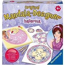 Ravensburger - 29730 - Loisir Créatif - Mandala Designer 2 en 1 - Ballerina