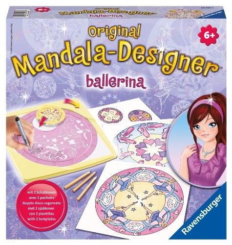 Ravensburger 29730 - Ballerina 2 in 1 - Midi Mandala-Designer -