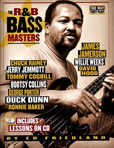 The way they play - r&b bass masters guitare basse+CD