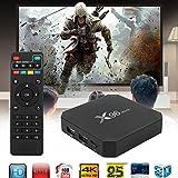 Cewaal (EU Plug)Scatola astuta ultra veloce della TV, X96 Mini Android 7.1 Amlogic S905W 2GB + 16GB Quad core WiFi HD 4Kx2K Smart TV Box Media Player immagine