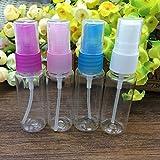 20ml de viaje transparente de plástico niebla atomizador bomba de muestra de la pluma envase pequeños perfumes atomizador pulverizador envases de vial