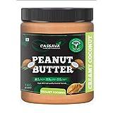 Cassava Coconut Creamy Peanut Butter 1 KG | 24g Protein | No hydrogenated Oil | No Added Sugar | No Added Flavor |