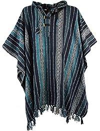 Poncho Hippie chic, Andenponcho / Strickjacken und Ponchos, alternative Bekleidung von Guru-Shop