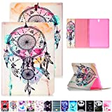 Romantronic Samsung Galaxy Tab S3 9.7 Pouces SM-T820 T825 Coque Housse Etui Case Protection Slim Coque Pochette Smart Cover avec Support Stand Fin Pliable Touch Stylet Inclus, Y11