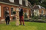 Übergames Giga großer Riesenwackelturm Kiefer, bis 150 cm, Grundhöhe ca. 90 cm - aus ECO-Holz: unser Bestseller