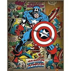 Empire 522269 - Póster del Capitán América, Marvel (40 x 50cm)