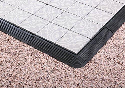 Bodenmax cemento mosaico click piastrelle per pavimenti set x