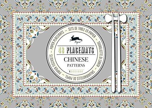 Chinese Patterns : 48 Placemats par Pepin Van Roojen