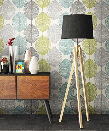 Preisvergleich Produktbild Tapete Natur Modern Blumen Floral | Schöne Edle  Tapete Im Natürlichen Design | Moderne