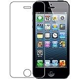 Vada-Tec Panzerglas Glasfolie Apple iPhone 5/5S Echt Glas Schutzfolie - 9H Hartglas Original