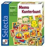 Selecta 3582 Memo Kunterbunt - Wer findet die meisten Tier-Paare - Ein klassisches Memo-Spiel