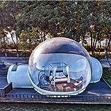 BNVN Tente Gonflable en Plein Air Maison éToiléE Transparente 4m