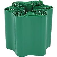 com-four® Bordure de pelouse en Plastique - Bordure de lit pour pelouse, Plate-Bande ou Bordure de Coupe - Longueur à…