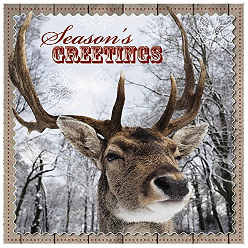 Me To You Up Close 3d Christmas Seasons Greeting Card Stag Deer Forest