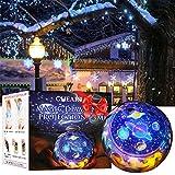 Sterne Nachtlicht Projektor Lampe,Romantische Sternennacht Universum Licht Projektorlampe für Home Party Geburtstag Dekorationen Lichter Kinder Geschenk Spielzeug Schlafzimmer Wohnzimmer