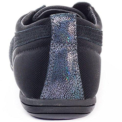 Puma Eskiva Low Ds, Baskets mode femme Noir (Black)