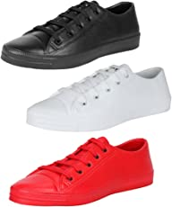 Earton Men Combo Pack of 3 Sports Shoes