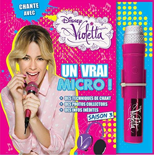 Violetta, Saison 3, LIVRE MICRO