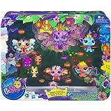 Littles PetShop - Pack Colección Hadas Mágicas - Baile de máscara (Hasbro - 99949 148) (a partir de 4 años) (pilas incluidas)