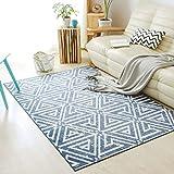 SESO UK Nordic Geometric Moderne Teppich Weichen Bequemen Rutschfeste Großen Teppich für Schlafzimmer Wohnzimmer Haushalt Dekoration Blended Dicke-6mm (Größe : 200X300cm)