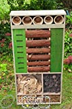 Insect Hotel 48-Inch High, Mega XXL Front Green...