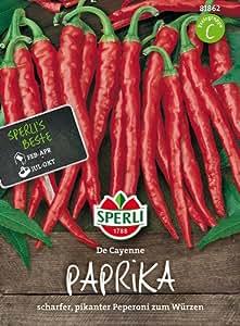 Tropica - Paprika / Chilli - De Cayenne (Capsicum annum) - 20 Samen - Chilli / Pepperoni