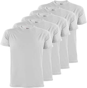 ALPIDEX T-Shirt da Uomo Confezione da 5 con Girocollo - Taglie S M L XL XXL 3XL 4XL