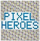 Pixel Kunst - Pixel Helden Heroes Sticker Buch Book