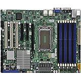 Supermicro H8SGL-F - serveurs/ stations d'accueils cartes mères (ATX, AMD, Prise G34, DDR3-SDRAM, 16GB, 1GB, 2GB, 32GB, 4GB, 8GB, Quad)