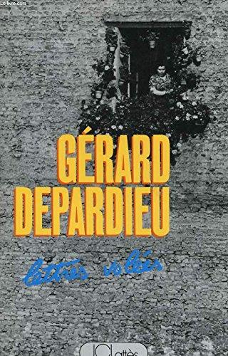 Lettres Volées par Depardieu Gérard