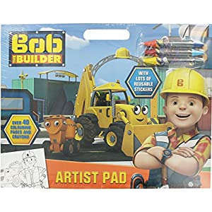 Alligator Productos 2937/Bbar Bob el Constructor Artista Pad