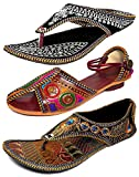 #5: Thari Choice Woman and Girls Ethnic Slipper (Pack of 3)