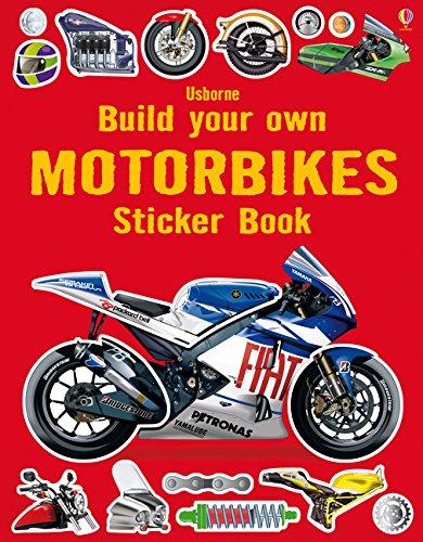 Build Your Own Motorbikes Sticker Book (Build Your Own Sticker Book)
