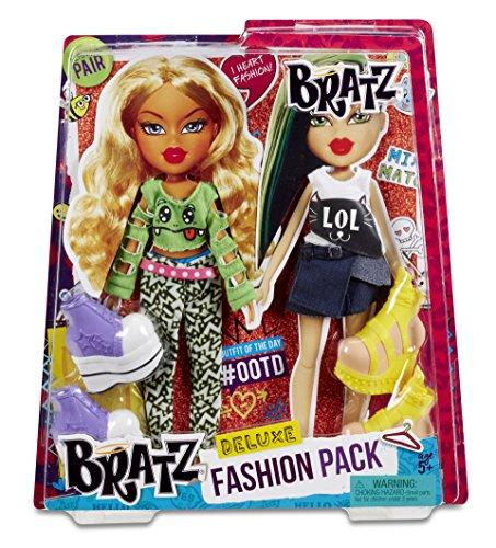 Bratz Deluxe Fashion Pack # 2Streifen and Jade-Geschenkset für Puppe–Zubehör für Puppen-Geschenkset für Puppe, 5Jahr (E), Mehrfarbig, Kunststoff,, CE